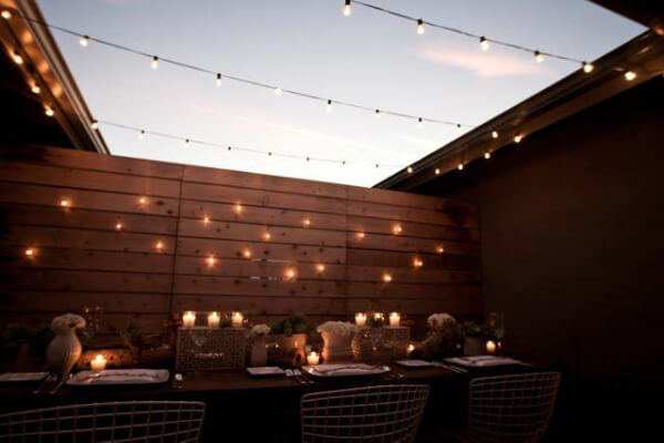 Ideas para decorar una terraza en verano - Luces de terraza ...
