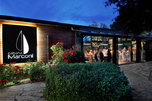 restaurante cabaña marconi