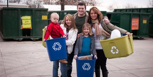 ahorrar energía y reciclar