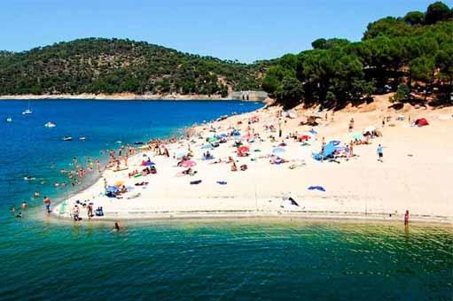 Playas de Madrid Pantano de San Juan