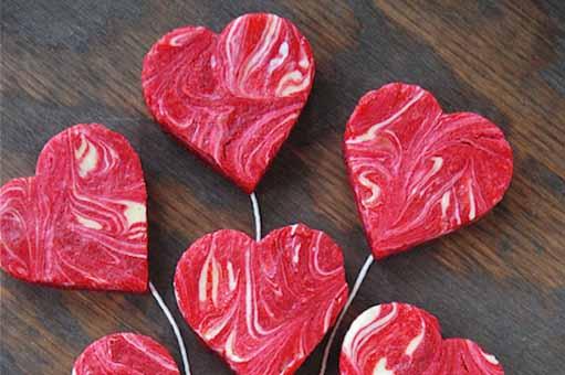 postres para San Valentin