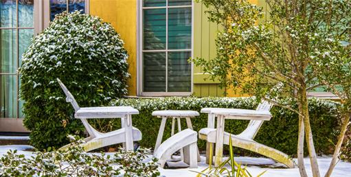 Consejos para conservar tus muebles de terraza en invierno
