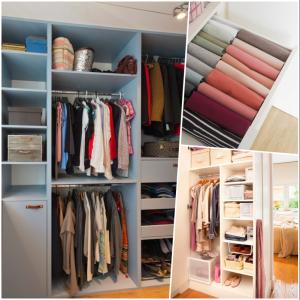 optimizar el espacio de tu armario